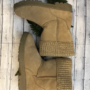 Bass Girls Sweater Top Boots
